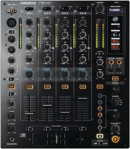 Reloop RMX-80 Digital DJ Mixer with Built in Effects - Rock and Soul DJ Equipment and Records