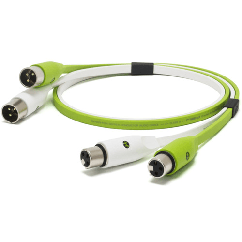 OYAIDE NEO Class B XLR Cable 2.0m - Green - Rock and Soul DJ Equipment and Records