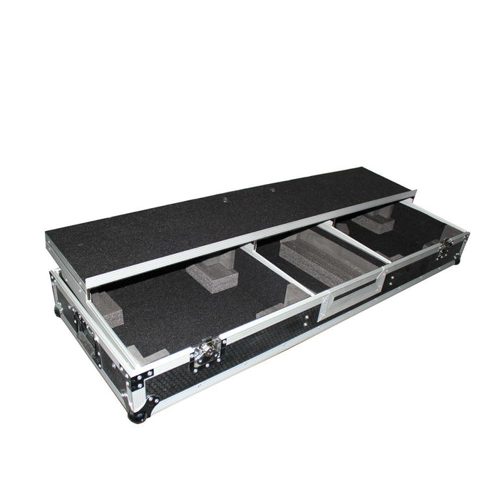 "ProX - DJ Coffin Case for 10"" or 12"" Mixer and 2x 1200 style Turntables"