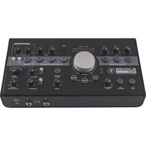 Mackie Big Knob Studio+ Monitor Controller and Interface - Rock and Soul DJ Equipment and Records