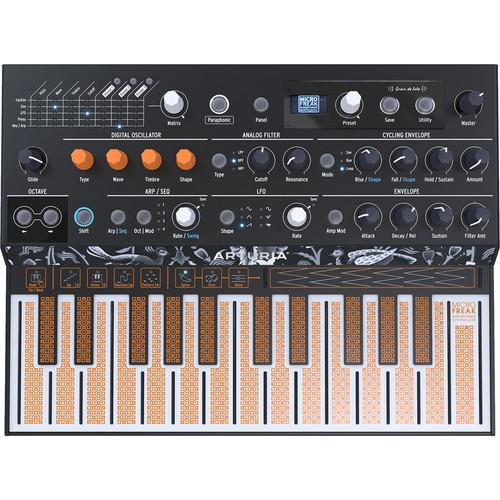Arturia MicroFreak - Hybrid Analog/Digital Synthesizer with Advanced Digital Oscillators - Rock and Soul DJ Equipment and Records