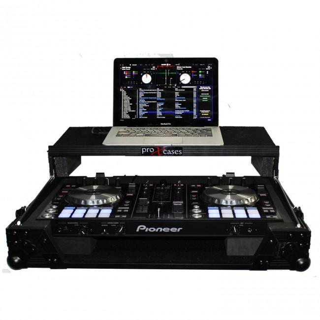 ProX Cases - XS-DDJSR-LTBL Flight case for Pioneer DDJ-SR - Rock and Soul DJ Equipment and Records