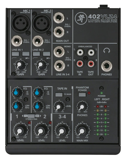 Mackie 402-VLZ4 4 Channel Mixer