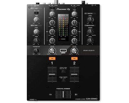 Pioneer DJM-250MK2 2-channel Scratch Mixer with Rekordbox DVS on Rock and Soul