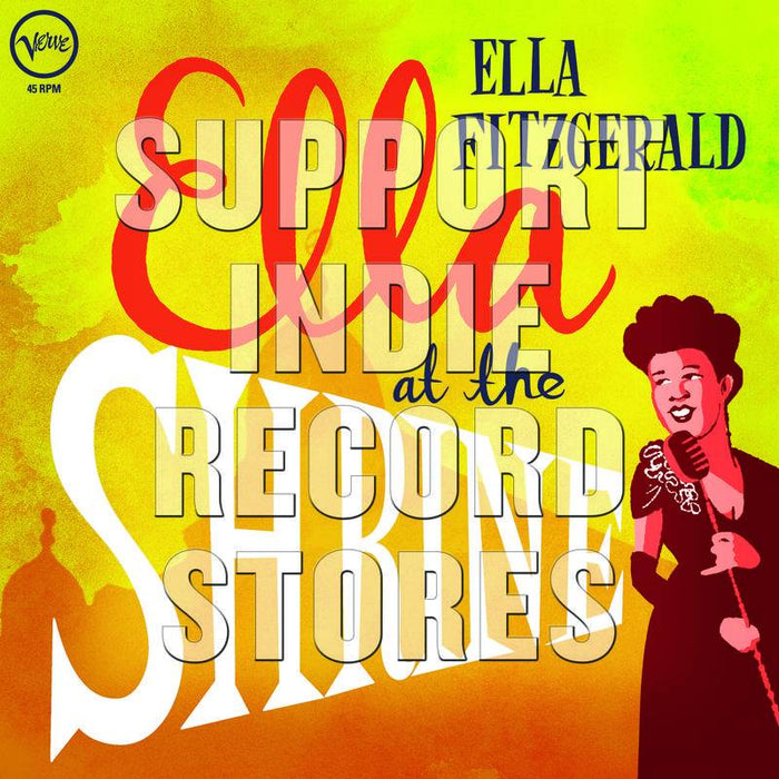 Fitzgerald, Ella-Ella At The Shrine [LP][Translucent Yellow]-LP