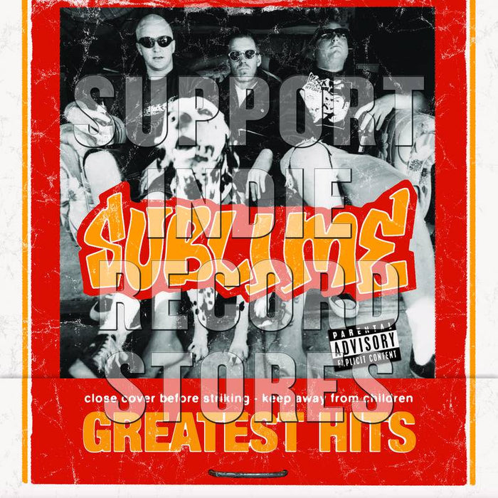 Sublime-Greatest Hits [Yellow LP + Flexi-Disc]-LP plus Flexi-Di9sc - Rock and Soul DJ Equipment and Records