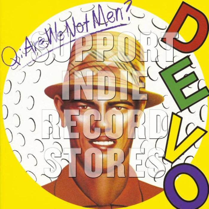 Devo-Q: Are We Not Men? A: We Are Devo! (Picture Disc) (Black Friday Exclusive 2018)-LP Picture Disc