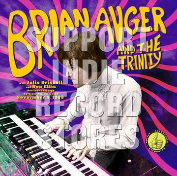 Auger, Brian & The Trinity-Live From The Berliner Jazztage: November 7, 1968-LP - Rock and Soul DJ Equipment and Records
