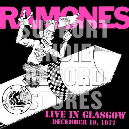 Ramones-Live In Glasgow December 19, 1977 (2LP Numbered) (Black Friday Exclusive 2018)-LP(x2) - Rock and Soul DJ Equipment and Records