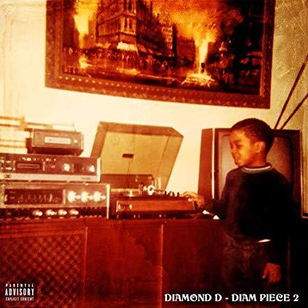 Diamond D - The Diam Piece 2 (LP) - Rock and Soul DJ Equipment and Records