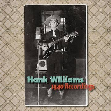 Hank Williams - The 1940 Recordings [7''] (Red Vinyl, first time on vinyl, limited to 2500, indie-exclusive)