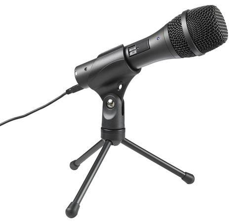 Audio Technica AT2005USB Handheld Dynamic Microphone - Rock and Soul DJ Equipment and Records