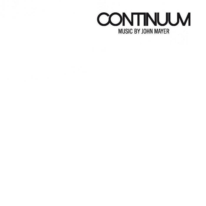 John Mayer - Continuum [2LP] (180 Gram, revised standard package) - Rock and Soul DJ Equipment and Records