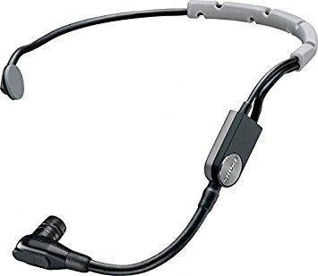 Shure SM35 Performance Headset Condenser Microphone with Windscreen and Inline XLR Preamp