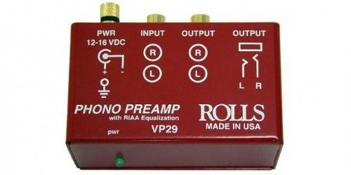 Rolls VP29 Phono Preamp - Rock and Soul DJ Equipment and Records