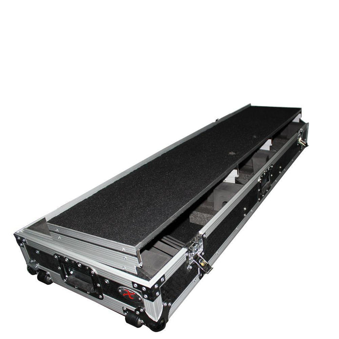 "ProX - DJ Coffin Case for 10"" or 12"" Mixer and 2x 1200 style Turntables - Rock and Soul DJ Equipment and Records"