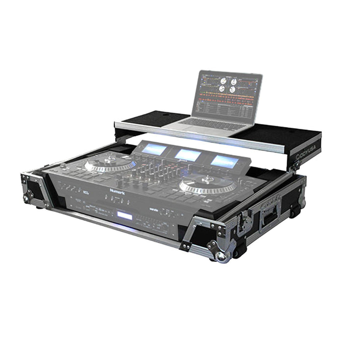 Odyssey FZGSNS73WX1 Numark NS7 / NS7II / NS7III DJ Controller Glide Style Case - Rock and Soul DJ Equipment and Records