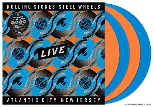The Rolling Stones - Steel Wheels Live (Live From Atlantic City, NJ, 1989) [4LP] - Rock and Soul DJ Equipment and Records