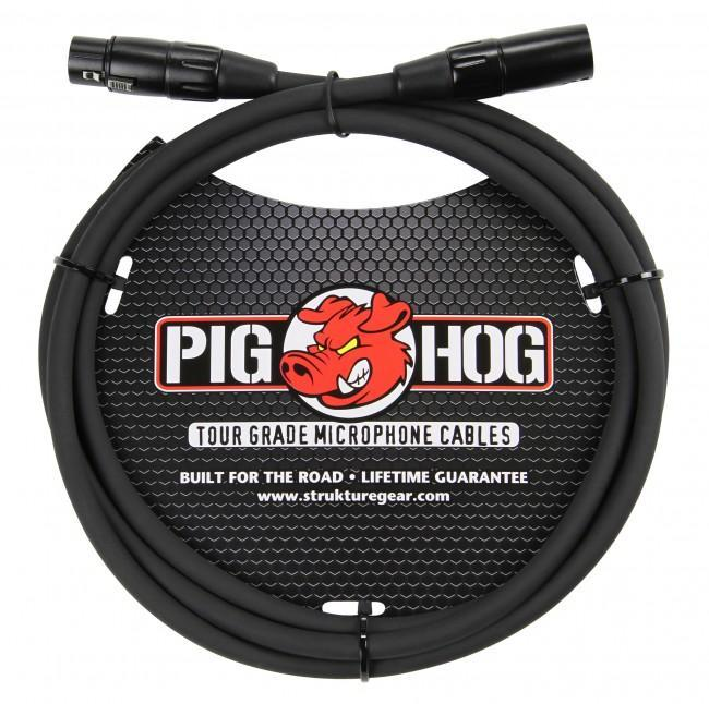 Pig Hog PHM6 6' 8mm XLR Microphone Cable - Rock and Soul DJ Equipment and Records