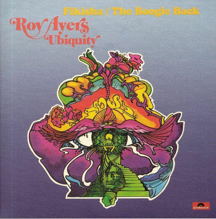 Roy Ayers Ubiquity - Fikisha / The Boogie Back [7''] (full color sleeve, limited to 500, import) - Rock and Soul DJ Equipment and Records