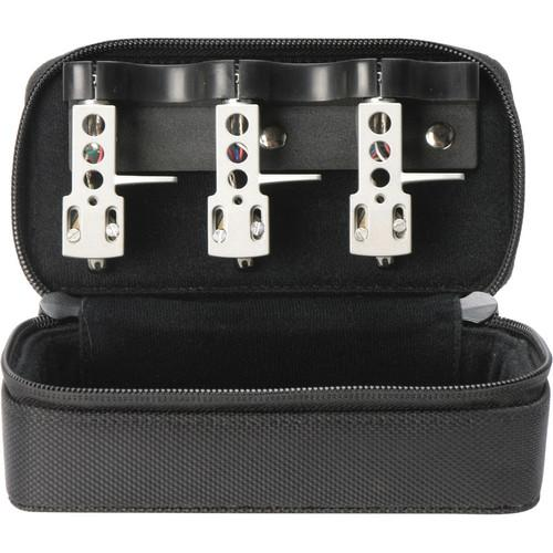 MAGMA Headshell Case Black fits 3 headshells and tools - Rock and Soul DJ Equipment and Records