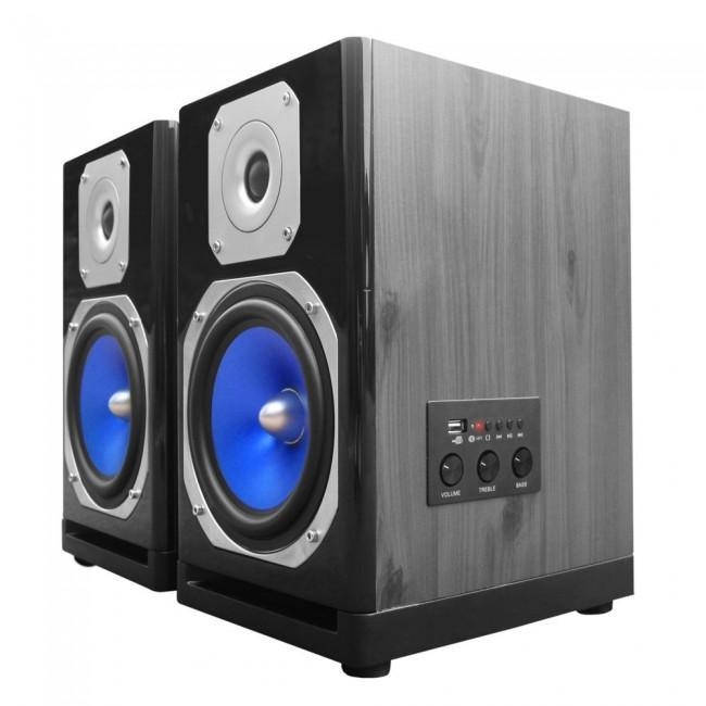 Technical Pro MB6000 Active Bluetooth USB Studio Monitor Speaker (Pair) - Rock and Soul DJ Equipment and Records