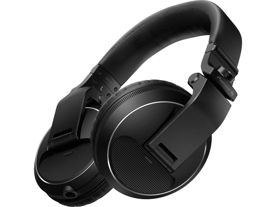 Pioneer HDJ-X5-K DJ Headphones in Black on Rock and Soul