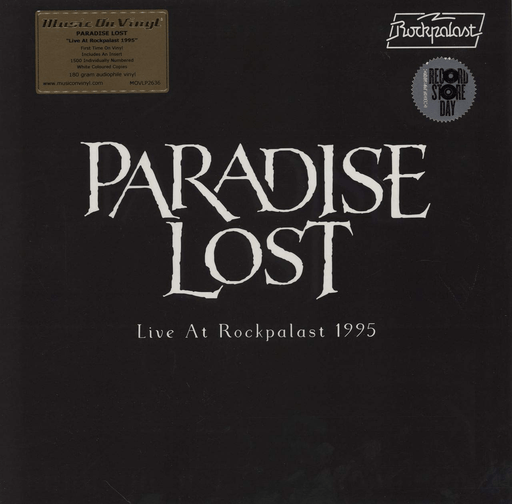 Paradise Lost - Live At Rockpalast - RSD 2020 - White Vinyl [2LP] - Rock and Soul DJ Equipment and Records
