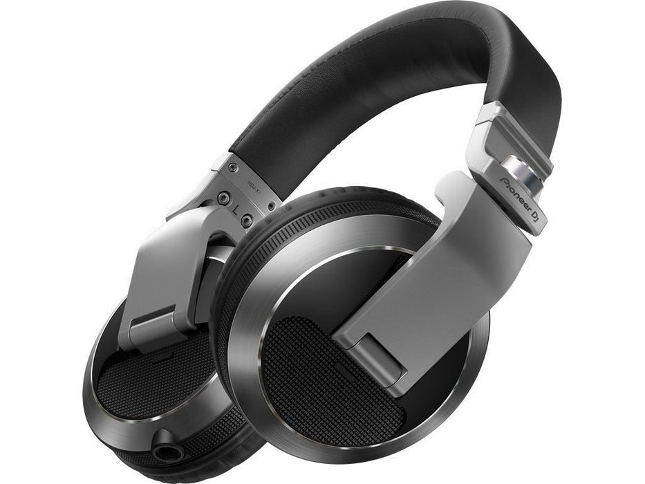 Pioneer HDJ-X7-S Professional DJ Headphones in Silver on Rock and Soul