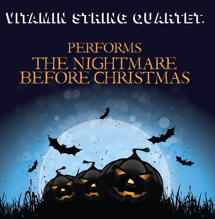 Vitamin String Quartet - The Nightmare Before Christmas, The [LP] (Yellow Colored Vinyl, bonus track, limited to 1500, indie-exclusive) - Rock and Soul DJ Equipment and Records