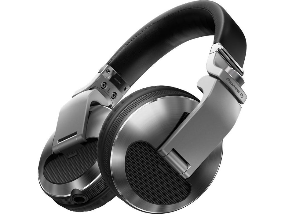 Pioneer HDJ-X10-S Professional DJ Headphones in Silver on Rock and Soul