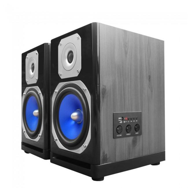 Technical Pro MB5000 Active Bluetooth USB Studio Monitor Speakers (Pair) - Rock and Soul DJ Equipment and Records