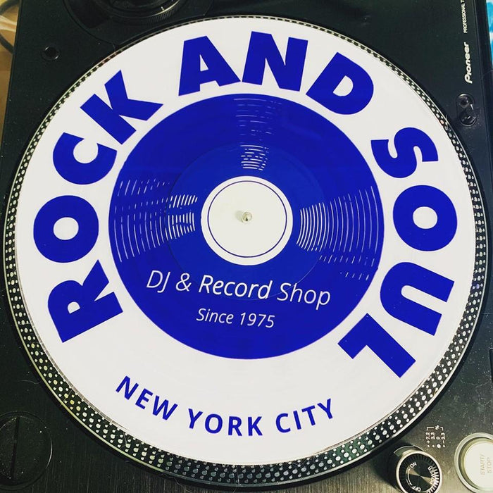 Rock and Soul Throwback Serato Vinyl (Pair) - Rock and Soul DJ Equipment and Records