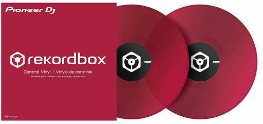 Pioneer RB-VD1-CR DVS Control Vinyl for Rekordbox DJ 2xLP in Clear Red on Rock and Soul