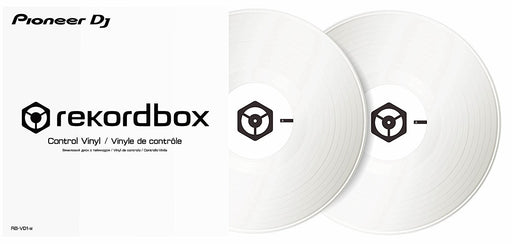 Pioneer RB-VD1-W DVS Control Vinyl for Rekordbox DJ 2xLP in Solid White on Rock and Soul