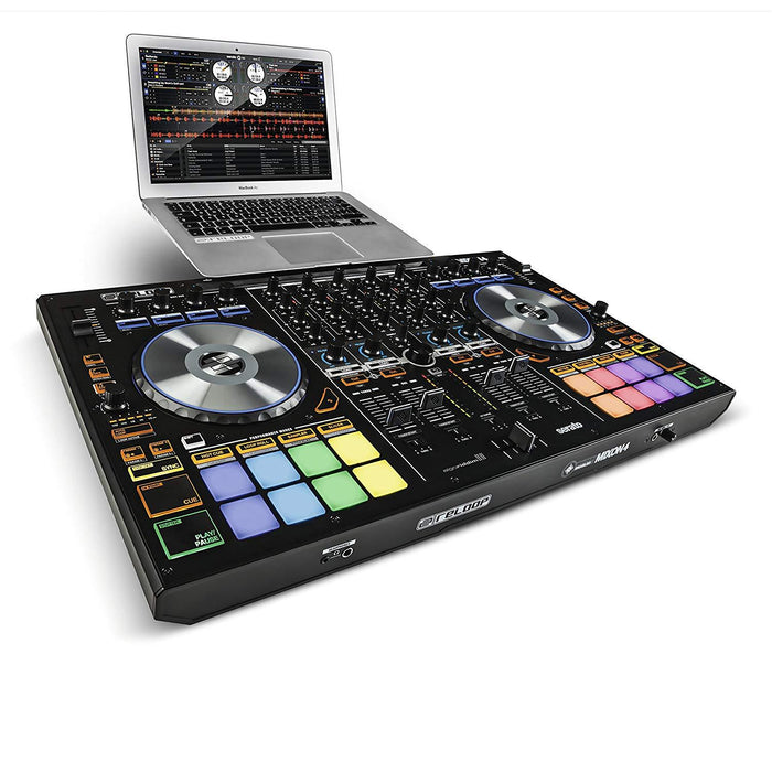 Reloop Mixon 4 High Performance Hybrid DJ Controller - Rock and Soul DJ Equipment and Records