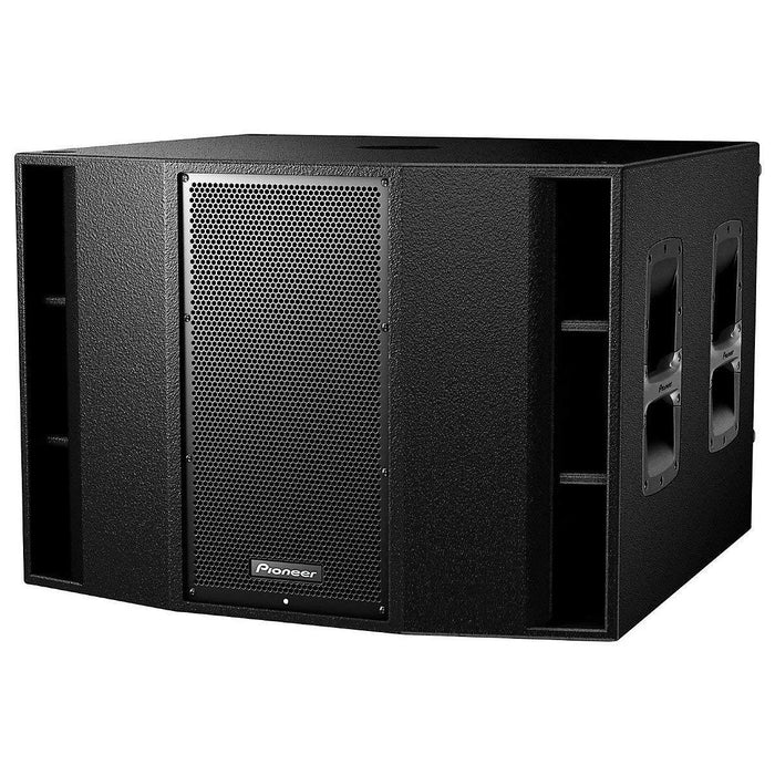 "Pioneer XPRS215S Dual 15"" Active Subwoofer with Wood Enclosure on Rock and Soul"
