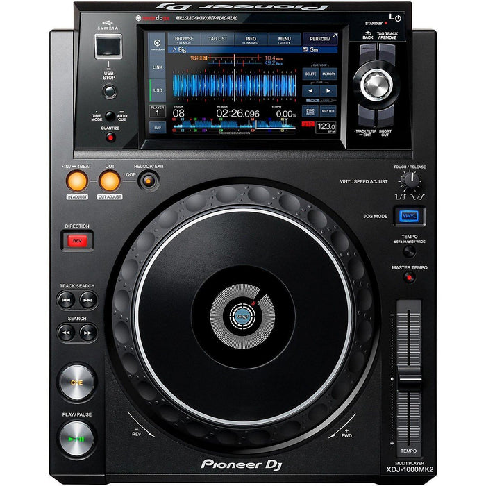 "Pioneer XDJ-1000MK2 Performance Digital Multi Player with 7"" Touchscreen - Rock and Soul DJ Equipment and Records"
