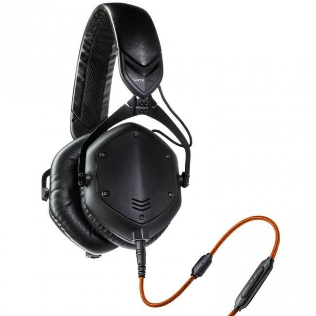 V-MODA Crossfade M-100 Over-Ear Noise-Isolating Metal Headphone (Matte Black Metal) - Rock and Soul DJ Equipment and Records