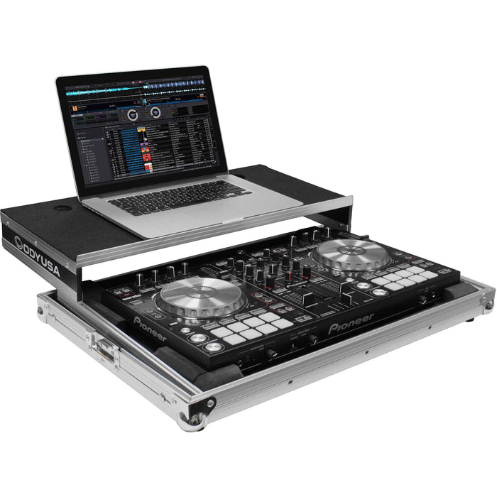 Odyssey Innovative Designs Flight Ready Glide Style Case for Pioneer DDJ-RR / SR / SR2 DJ Controller - Rock and Soul DJ Equipment and Records