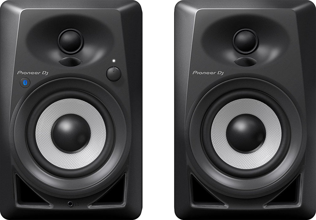 "Pioneer DM-40BT 4"" Bluetooth Desktop Monitor Speakers (Pair) - Rock and Soul DJ Equipment and Records"