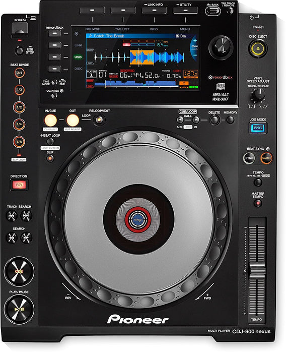 Pioneer CDJ-900nxs Professional Multi-player - Rock and Soul DJ Equipment and Records