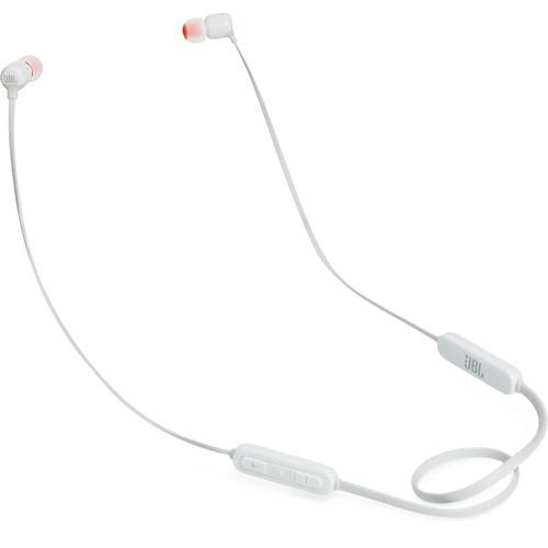 JBL T110BT Wireless In-Ear Headphones (White) - Rock and Soul DJ Equipment and Records