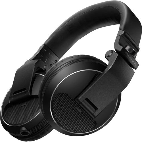 Pioneer HDJ-X5-K DJ Headphones in Black - Rock and Soul DJ Equipment and Records