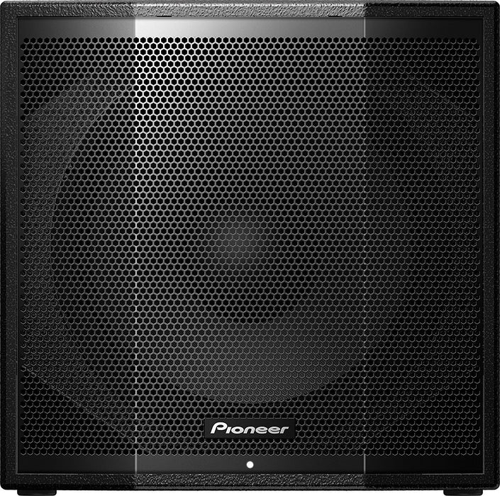 "Pioneer XPRS115S Single 15"" Active Subwoofer with Wood Enclosure on Rock and Soul"