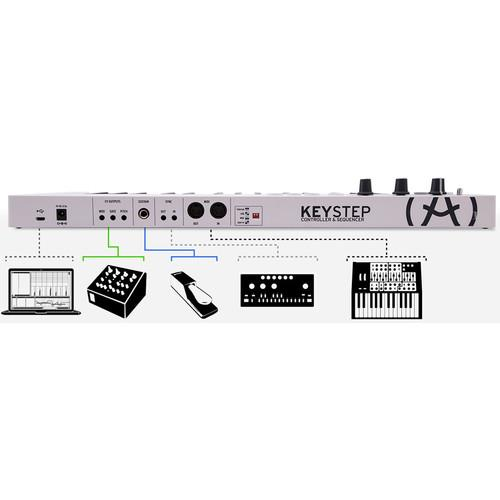 Arturia KeyStep - Controller / Sequencer - Rock and Soul DJ Equipment and Records