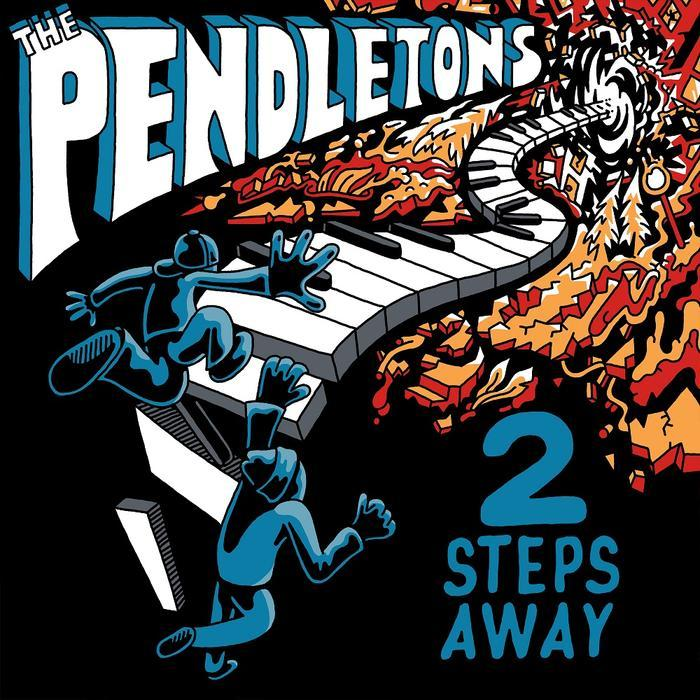 The Pendletons - 2 Steps Away (LP) - Rock and Soul DJ Equipment and Records