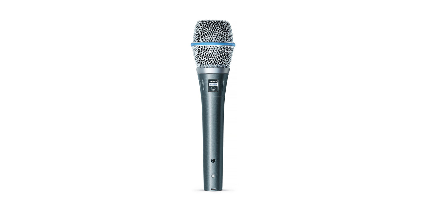 Shure BETA 87A Supercardioid Handheld Condenser Microphone - Rock and Soul DJ Equipment and Records