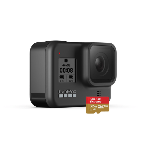 GoPro HERO8 Black Camera with 32GB SD Card - Rock and Soul DJ Equipment and Records