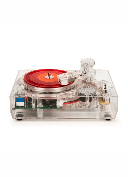 "Crosley RSD2020 Mini Turntable - Clear + Two 3"" Post Malone records ""Limited Ed."" - Rock and Soul DJ Equipment and Records"